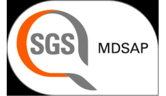 Certifcate SGS MDSAP